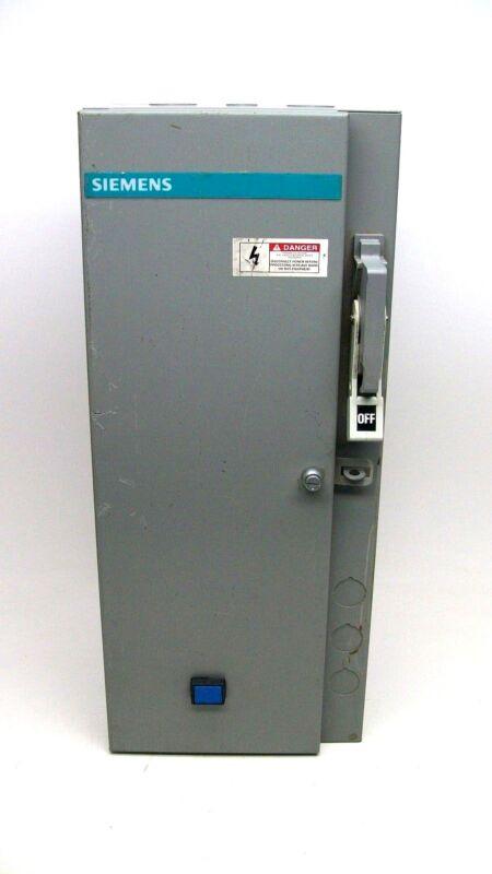 USED SIEMENS SCHFE11120 COMBINATION MOTOR CONTROLLER