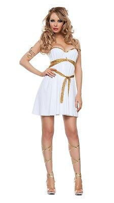 Starline Women's Glamorous Greek Goddess Costume White Sexy Xlarge