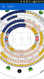 Brazil vs argentina hard copy tickets argentina support area Melbourne CBD Melbourne City Preview