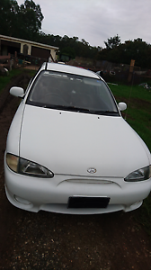 4 MONTHS REGO - LOW KMS - HYUNDAI EXCEL - 5 SPEED MANUAL Maroota The Hills District Preview