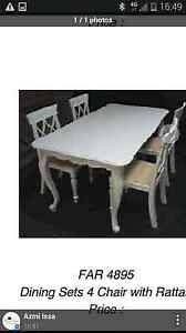 French provincial dinning table Greenacre Bankstown Area Preview