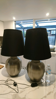 Two large lamps