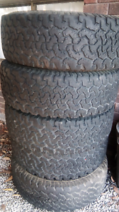 BF Goodrich 4x4 4wd tyres LT265/70R17 x 5 Beaconsfield Upper Cardinia Area Preview