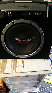 Xmgtr3301d and Pioneer champion series subwoofer Minto Campbelltown Area Preview
