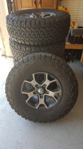 2018 Jeep Wrangler JL Rubicon Wheels & Tires [five]