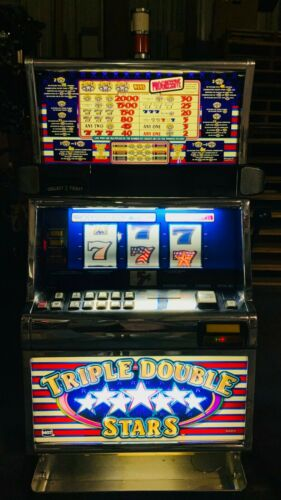 IGT Triple Double Star Slot Machine For Sale