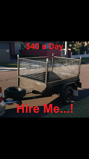 6x4 TRAILER HIRE Wollongong $40/day