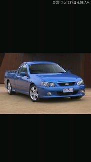 Wanted: Wanted !! BF XR6T ute