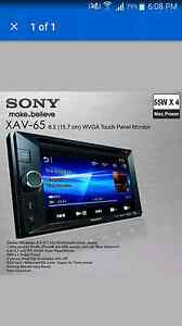 Sony xav-65 double din dvd player Newcastle Newcastle Area Preview