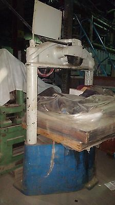 Greenerd 9 Double Geared Ratchet Style Arbor Press 40 Ton Rare