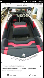 Wanted: Ski boat seats and engine cover..