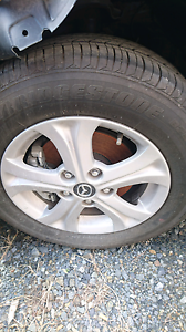 MAZDA 3 2012 ALLOY WHEELS FOR SALE Loganholme Logan Area Preview