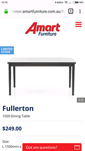2x DINING TABLE (NEW) $200EA