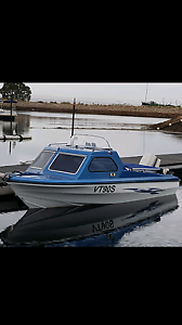 15' half cab fishing boat Mawson Lakes Salisbury Area Preview