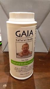 New GAIA natural baby powder 100g Wantirna South Knox Area Preview