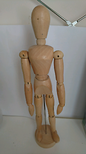 """Wooden mannequin female 12"""" - $10 Maroubra Eastern Suburbs Preview"""