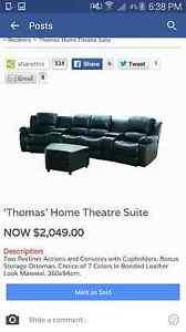 Thomas cinema lounge Minto Campbelltown Area Preview