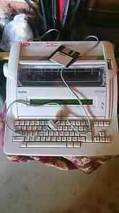 Electronic WORD PROCESSOR mint condition Brother Model  WP-700 D Harris Park Parramatta Area Preview