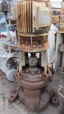 Worthington Condensate Pump 6UZVN-17 560GPM@70psi 2 stage Vertical 40HP motor