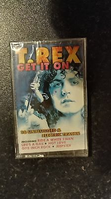 """T-REX """"GET IT ON """" NEW / SEALED MUSIC CASSETTE TAPE"""