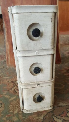 ANTIQUE SEWING MACHINE DRAWERS