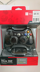 Xbox 360 wireless controller incl battries Maroubra Eastern Suburbs Preview