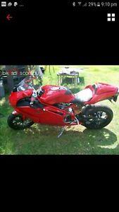 Ducati 999s 2005 model solo plated qld