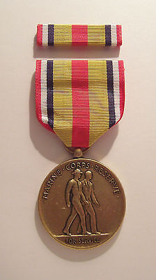 U.S. Marine Corps Selected Reserve Service Medal with RIBBON