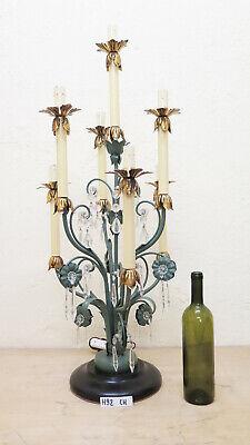 Floral Vintage Stehlampe (Tischleuchte Stehlampe Schmiedeeisen Stil Floral Vintage Handmade Ch)