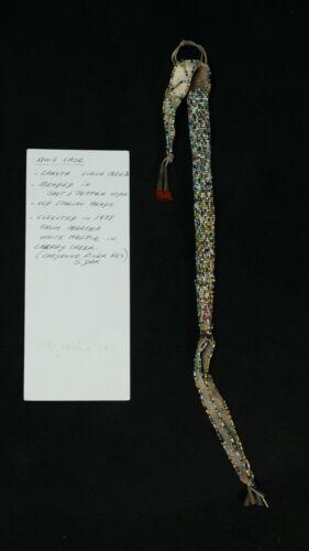 Antique Beaded Awl Case Pouch - Martha Magpie, Cherry Creek - Sioux Lakota