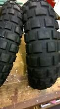 Continental MotocycleTyres Road / Dirt. 120 Front &180 Rear Gawler Gawler Area Preview