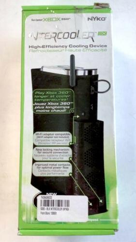 Nyko XBox 360 INTERCOOLER EX Cooling Fan BLACK console cooler external x-box