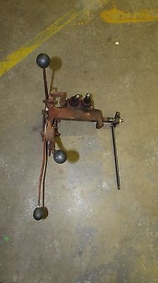 International 574 Tractor Rock Shaft Control Draft Control Assembly