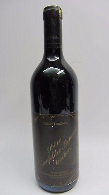 Pfälzer Landwein Dornfelder Rotwein trocken 1990 0,75l