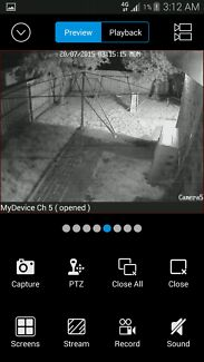 Swann CCTV + free bracket and monitor mounting included Lynbrook Casey Area Preview