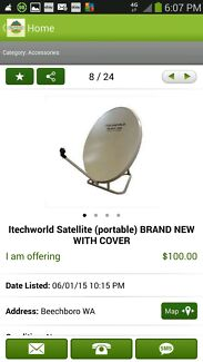 Satellite dish brand new  Broome 6725 Broome City Preview
