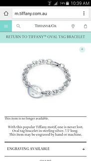 Authentic Tiffany and Co Bracelet  Albion Brimbank Area Preview