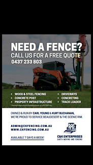 Fencing and Earthworks