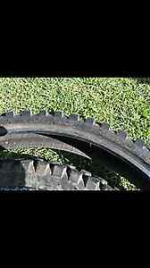 Up sale I have two dirt bike tyes Rooty Hill Blacktown Area Preview
