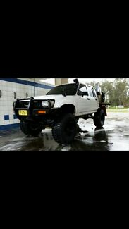 Tough hilux lots of mods very capable 4x4 Maitland Maitland Area Preview