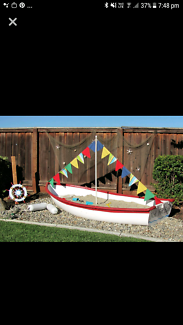 Wanted: Wanted please - old boat for sandpit
