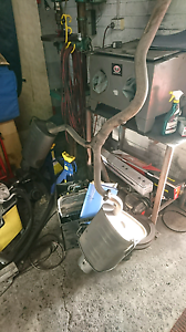 Subaru liberty gt genuine dump pipe and whole exhaust Wollongong Wollongong Area Preview