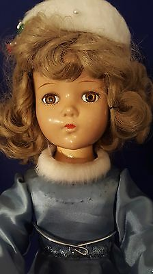 """ARRANBEE R & B Nancy Lee Doll Baby Composition 20"""" Blue Ice skater Outfit Skates for sale  Henrico"""