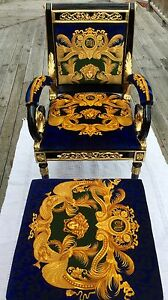 Versace Vanitas Chair and Ottoman North Hobart Hobart City Preview