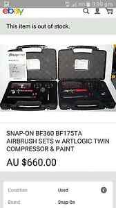 Snap on  air brush kit Bidwill Blacktown Area Preview