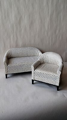 Economy Priced 1:6 Scale Furniture for Fashion Dolls  2pc. Sofa Set 4300CD for sale  Salem