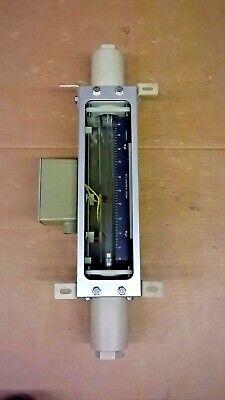 Brooks Rotameter 1110cl32cegafm 22.16 Scfh Gas Scale 0-100