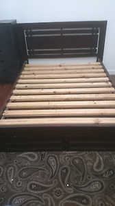 Queen Bed Frame - solid timber New Farm Brisbane North East Preview