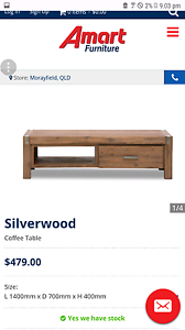 silverwood coffee table in queensland | gumtree australia free
