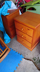 Two bedside tables Acacia Ridge Brisbane South West Preview